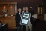 A special award to Stuart L Briggs (60-65)  for his long service and dedication to the Halford Hewitt team.