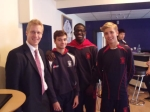 Andrew L Desson (87-93) met with the School's Upper Sixth pupils to discuss his career as a Fund Manager.