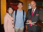 Christine Chung, Michael and the Headmaster
