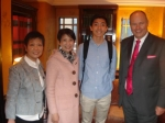 Linda Wong, Christine Chung, Michael and the Headmaster
