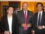 Ronson Cheng, the Headmaster and Alex Lau