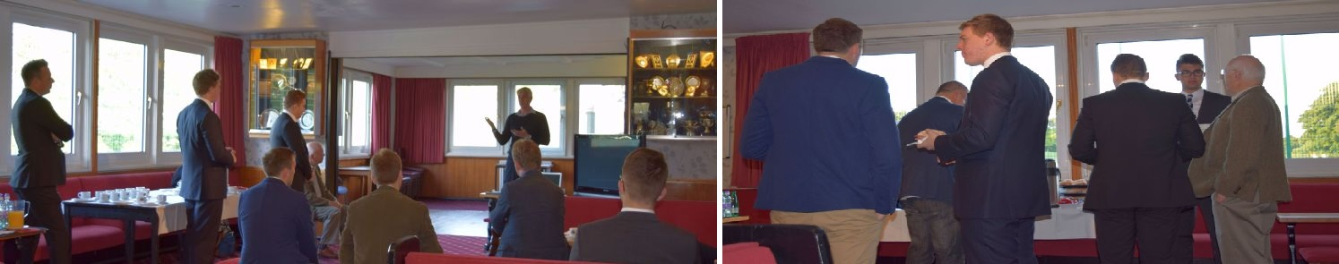 Photo of our Business Breakfast with Kenny Campbell