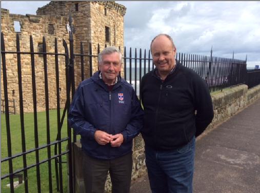 Headmaster and Graeme Scott